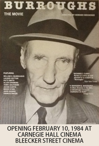 william s. burroughs thesis The dark satires of william s burroughs deal, above all, with overcoming the limits of ordinary consciousness through word-as-virus, drugs, magic, sex, telepathy.